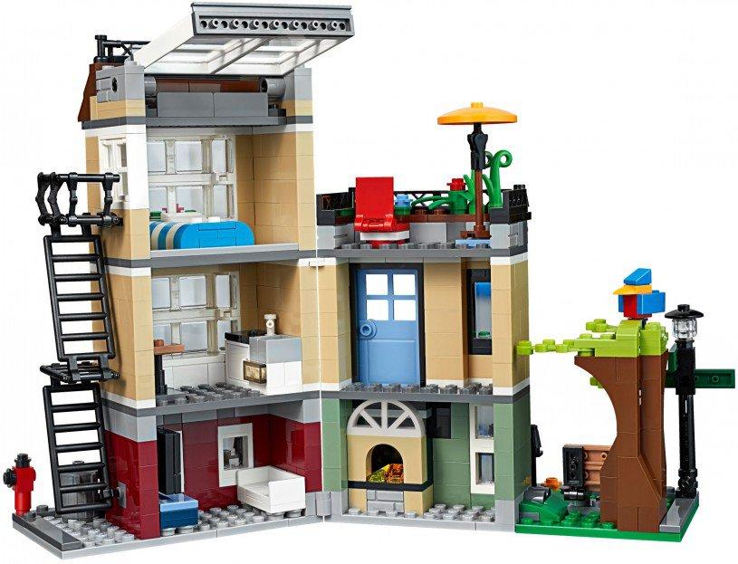 LEGO 31065 Creator Parkstraat woonhuis