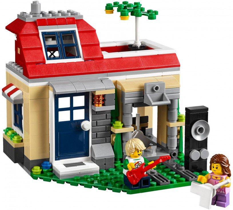 LEGO 31067 Creator: Vakantie aan het zwembad