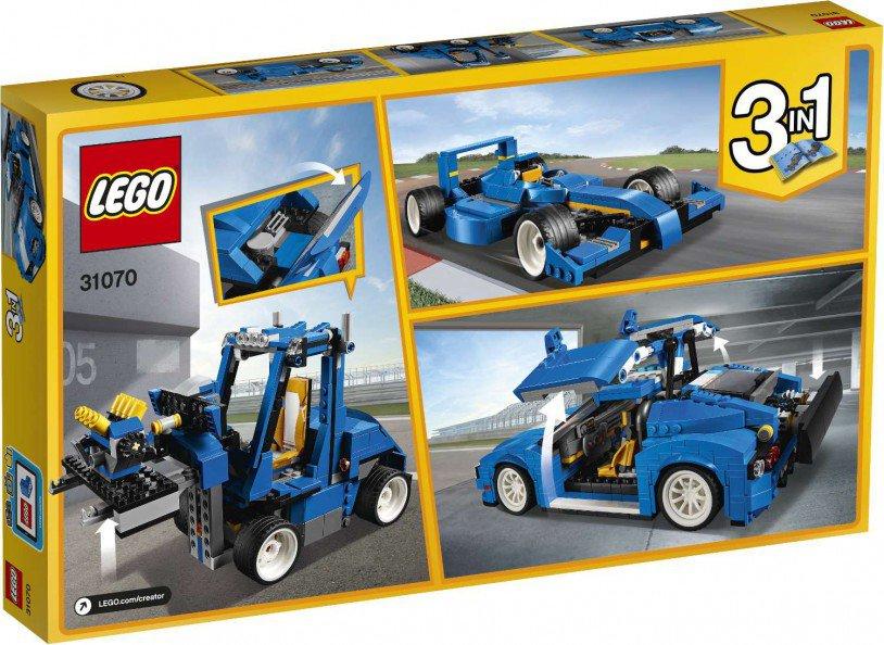 LEGO 31070 Creator: Turbo baanracer