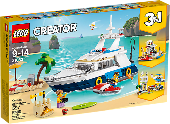 LEGO 31083 Creator 3-in-1: Cruise avonturen