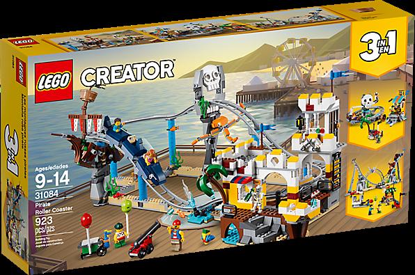 LEGO 31084 Creator 3-in-1: Piratenachtbaan