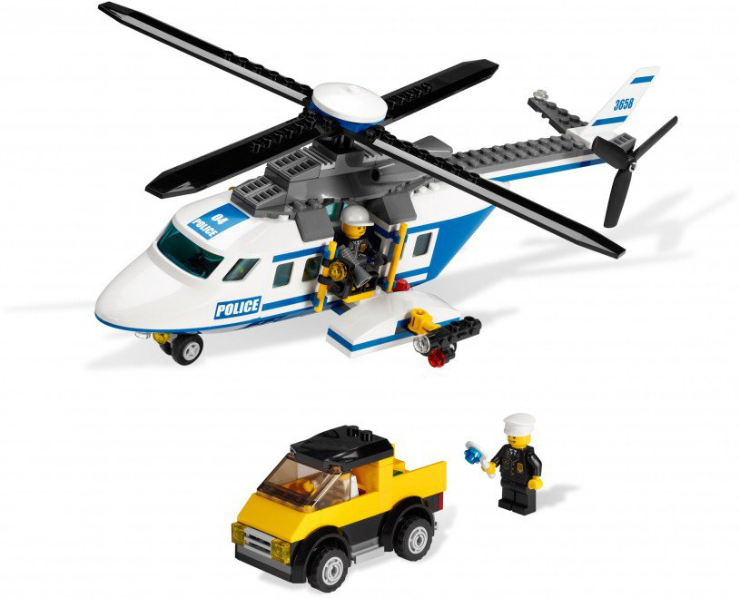 LEGO City Politie Helikopter 3658