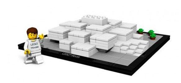 LEGO 4000010 Architecture: Lego Huis Billund Denemarken