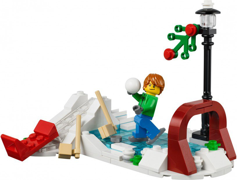LEGO Creator Winter Skating Scene 40107