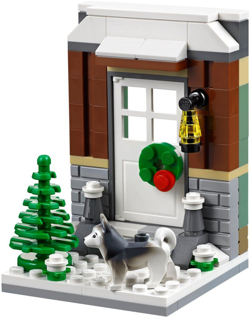 LEGO Exclusieve Winter Plezier 40124