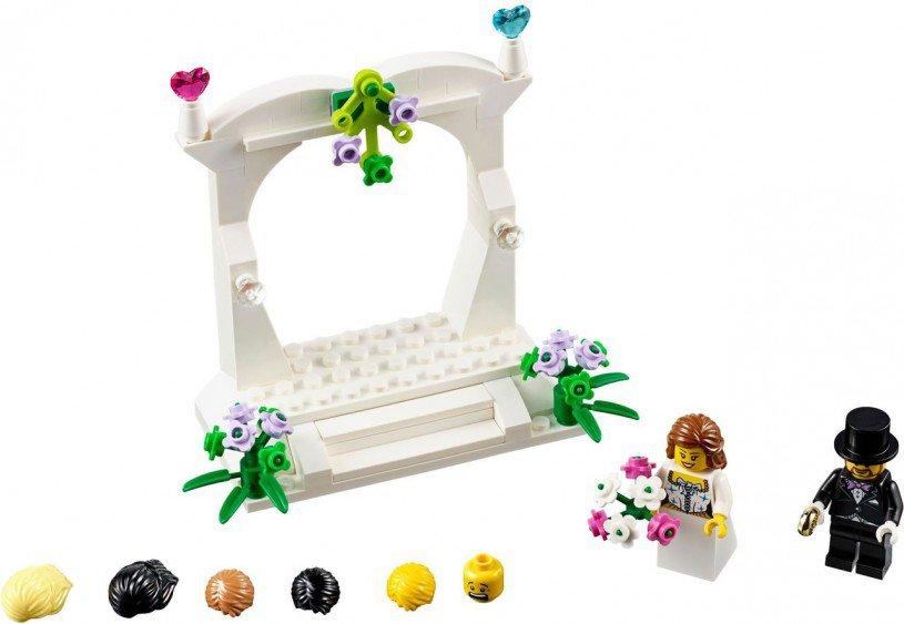 Lego huwelijks bedank setje 40165