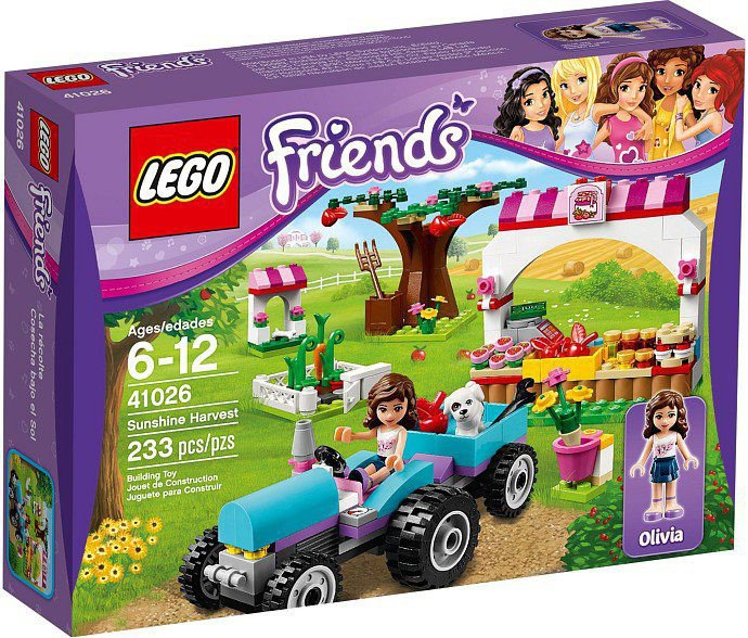 LEGO Friends - Sunshine Oogst 41026