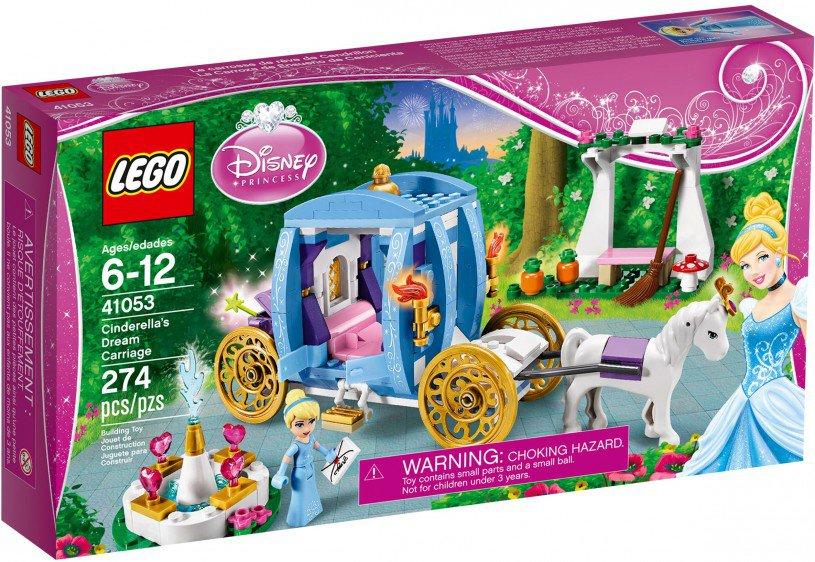 LEGO Disney Princess Assepoesters betoverde koets 41053