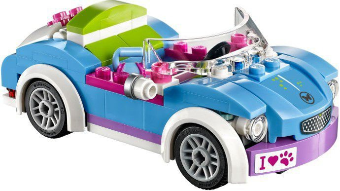 lego friends 41091 kopen mia 39 s roadster. Black Bedroom Furniture Sets. Home Design Ideas