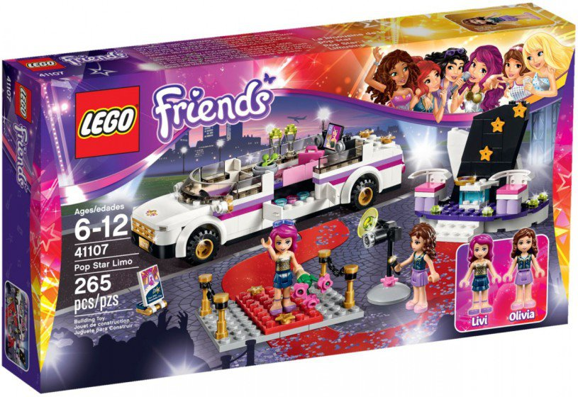 LEGO Friends Popster Limousine 41107