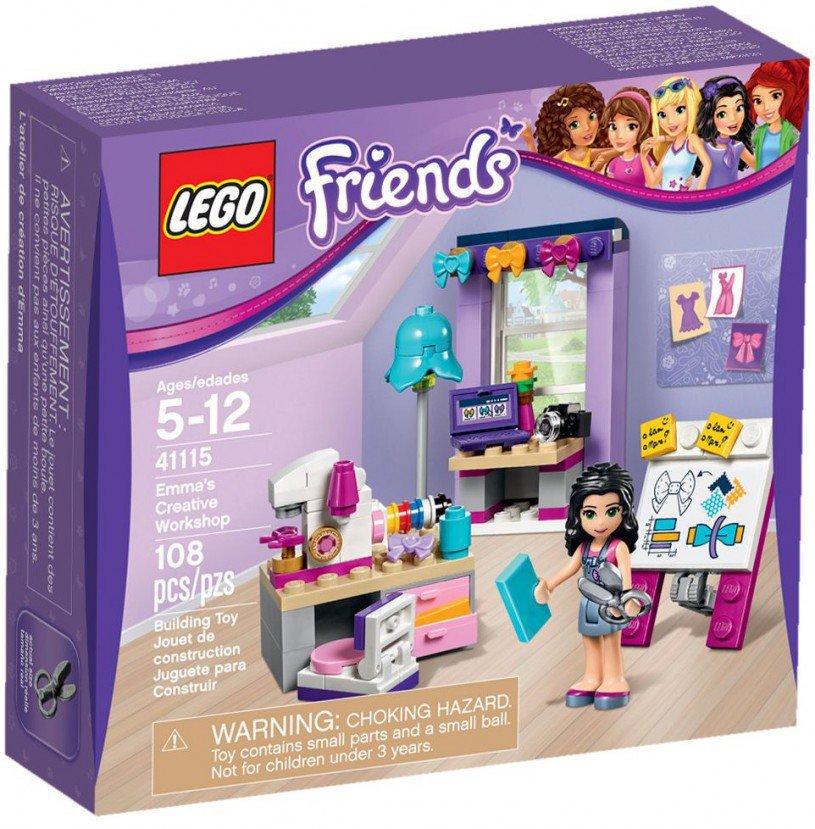 LEGO Friends Emma's Atelier 41115