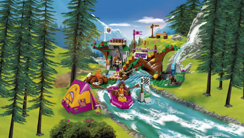 LEGO Friends - Avonturenkamp Wildwatervaren 41121