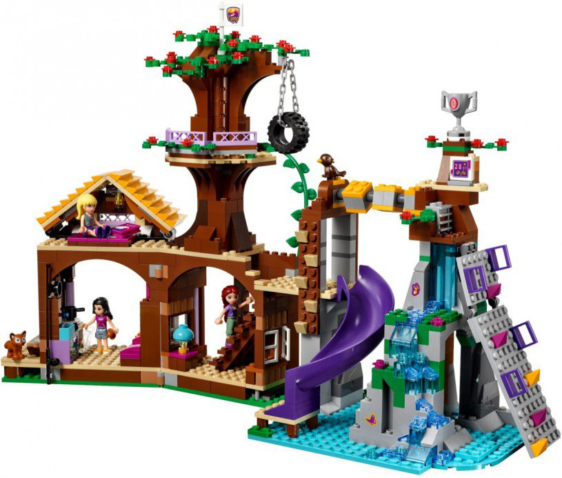 LEGO Friends Avonturenkamp Boomhuis 41122