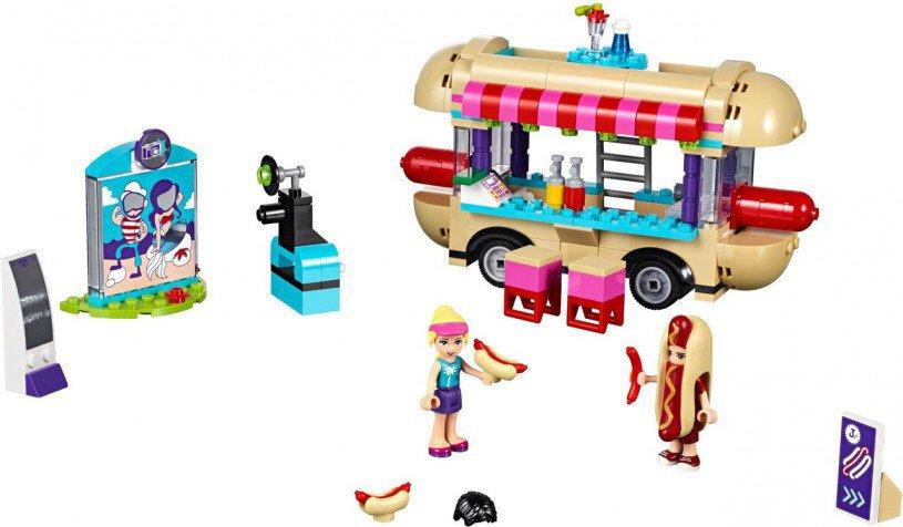 LEGO Friends Pretpark Hotdog-Wagen 41129