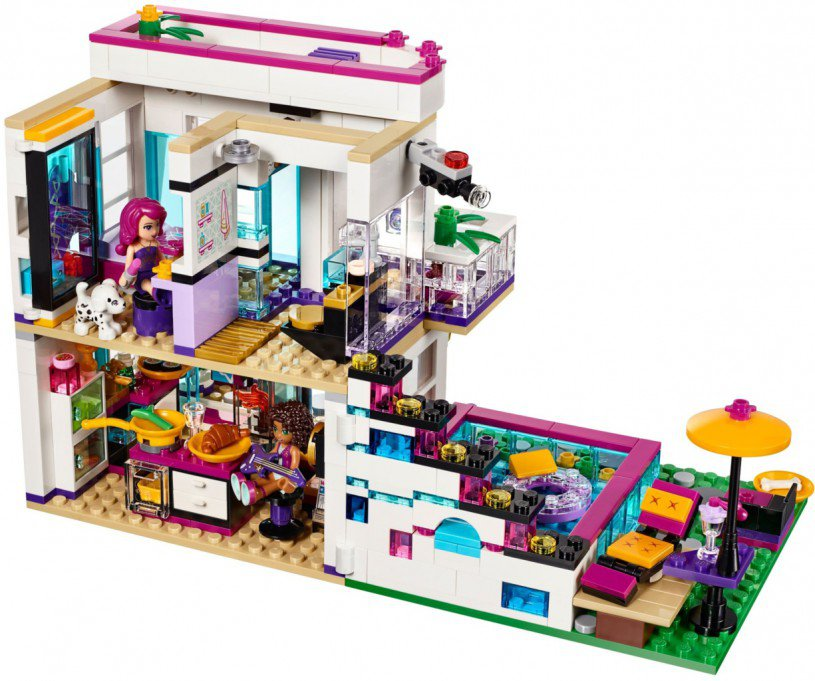 Lego friends popsterrenhuis: 41135