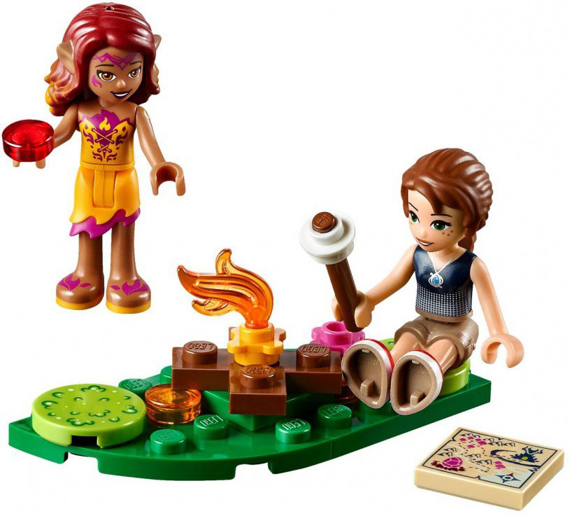 LEGO Elves De Lavagrot van de Vuurdraak 41175