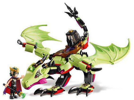 LEGO Elves 41183 Ashwing de aarde-draak