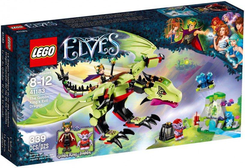 LEGO 41183 Elves De wrede draak van de Goblin-koning doos