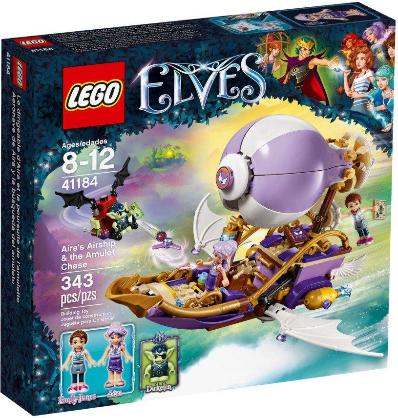 LEGO 41184 Elves Aira's luchtschip & de jacht op het amulet  Doos
