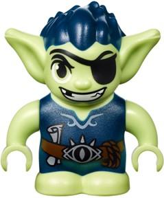 LEGO Eleves  Dukelin de goblin Minifiguur