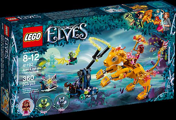 LEGO 41192 Elves: Azari en de vangst van de vuurleeuw