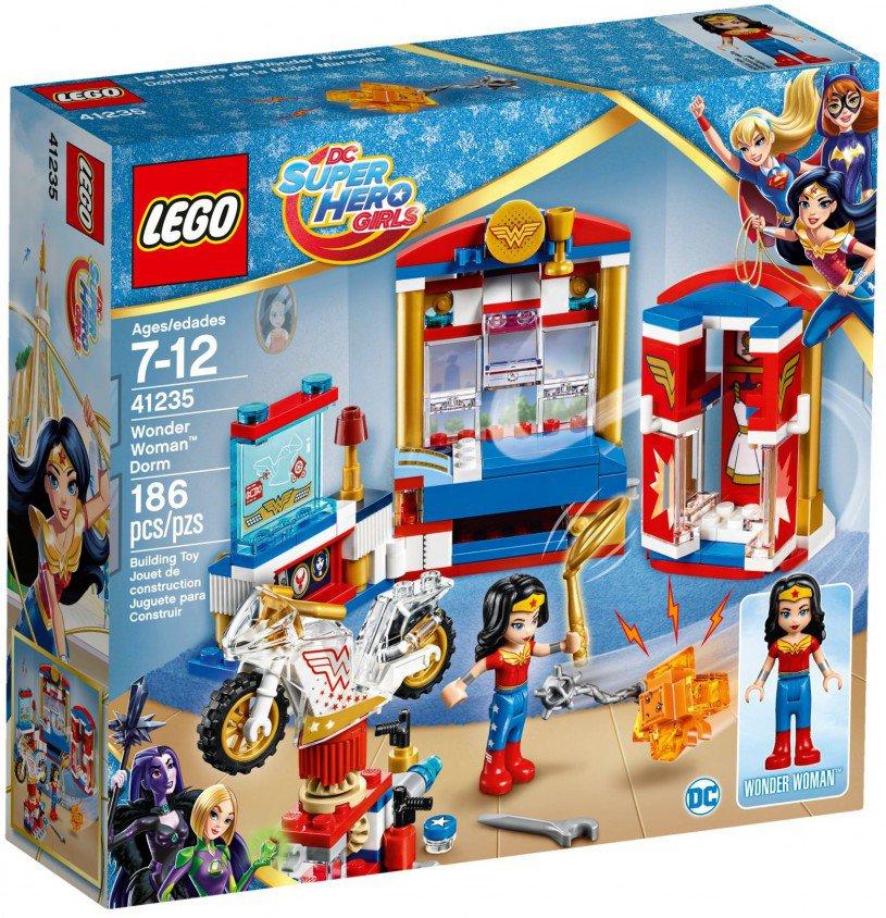 LEGO 41235 Super Heroes Girls Wonder Woman nachtverblijf doos