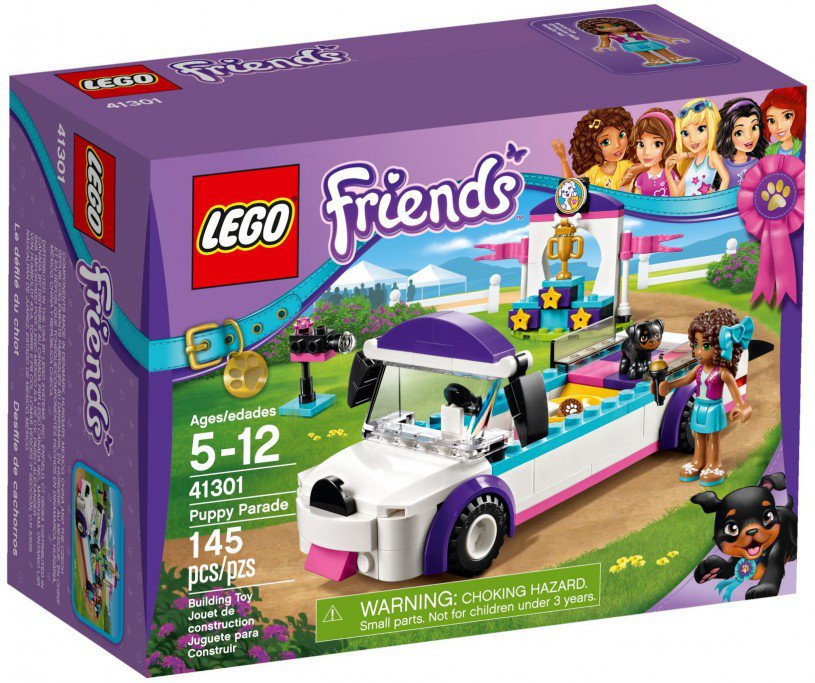 LEGO 41301 Friends Puppy optocht