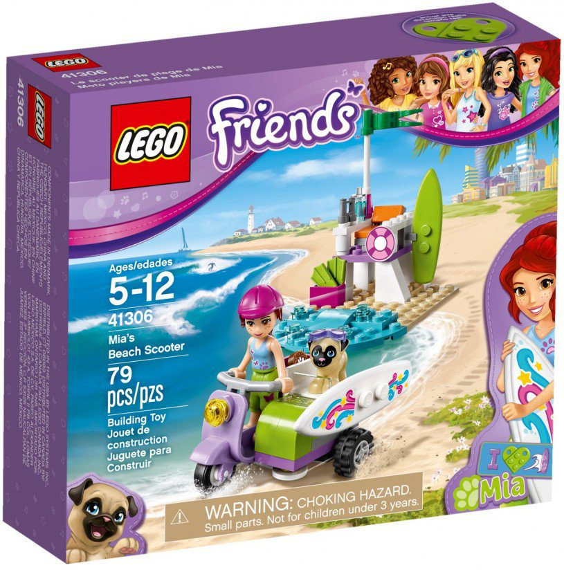 LEGO 41306 Friends Mia's strandscooter