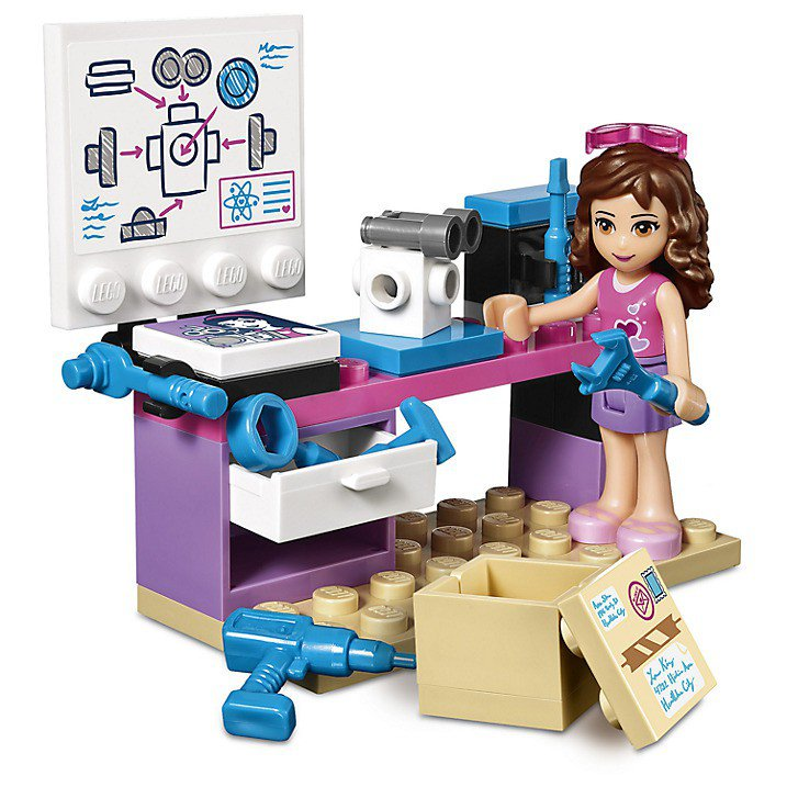 LEGO 41307 Friends Olivia's laboratorium