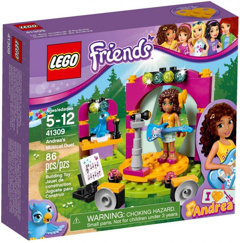 LEGO 41309 Friends Andrea's muzikale duet
