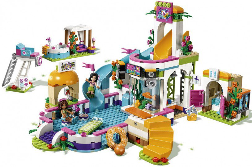 lego friends 41313 heartlake zwembad kopen. Black Bedroom Furniture Sets. Home Design Ideas