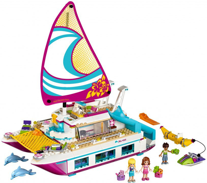 LEGO 41317 Friends: Sunshine catamaran