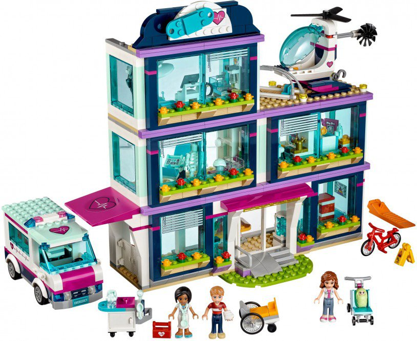 LEGO 41318 Friends: Heartlake ziekenhuis