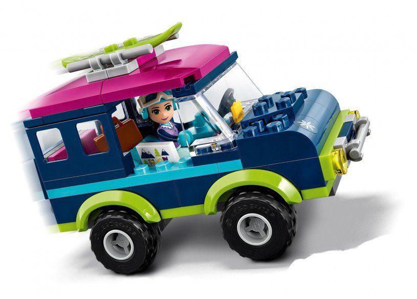 LEGO 41321 Friends: Wintersport Terreinwagen