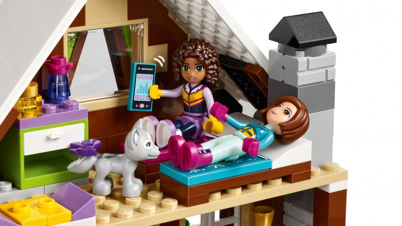LEGO 41323 Friends: Wintersport Chalet