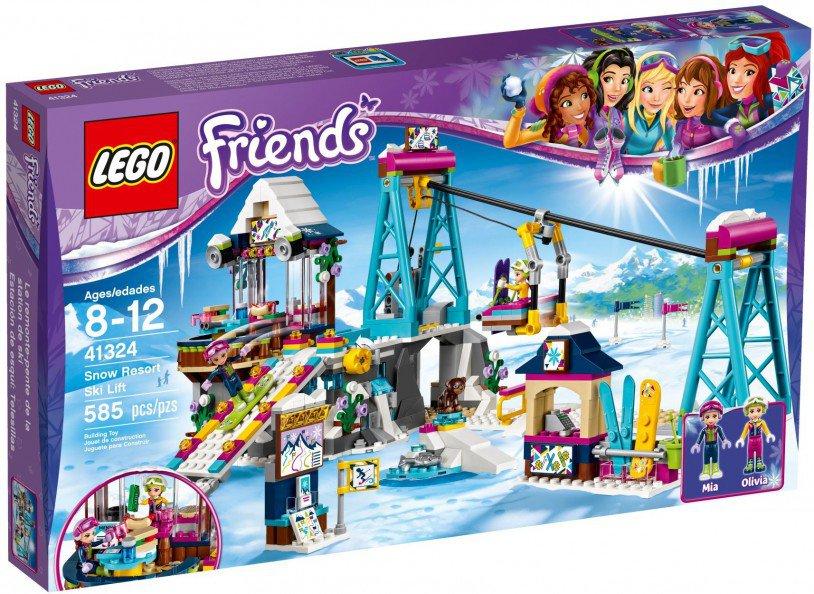 LEGO 41324 Friends: Wintersport Skilift