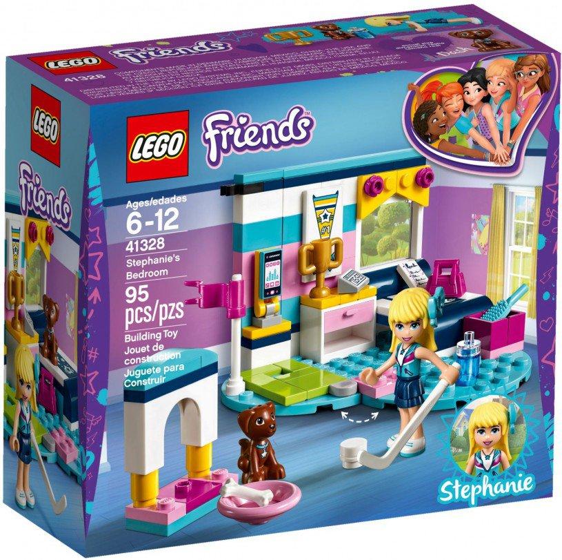 LEGO 41328 Friends: Stephanie`s slaapkamer