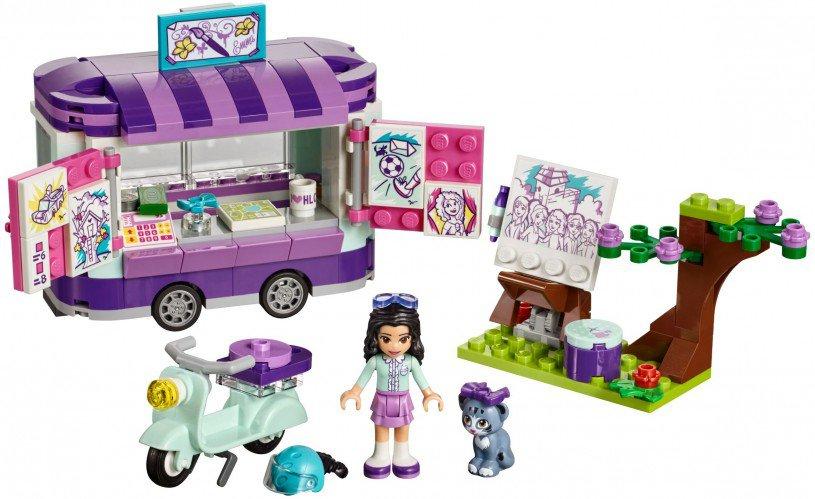 LEGO 41332 Friends: Emma`s kunstkraam