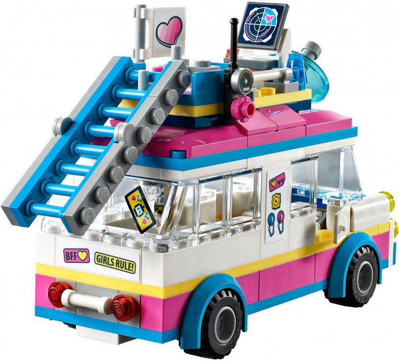 LEGO 41333 Friends: Olivia`s missievoertuig