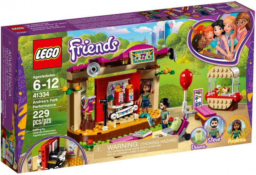 LEGO 41334 Friends: Andrea`s parkprestaties