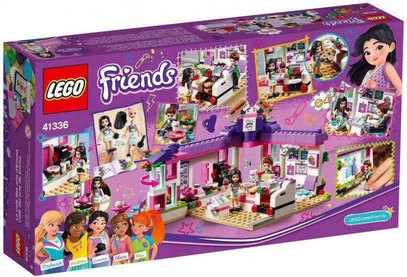 LEGO 41336 Friends: Emma`s kunstcafe
