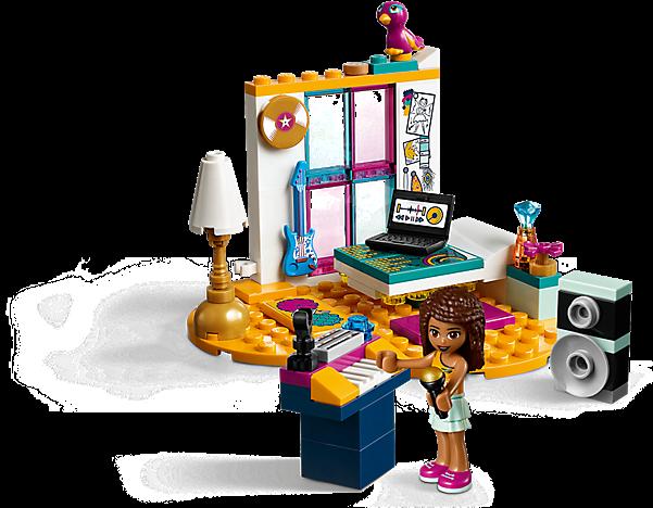 LEGO 41341 Friends: Andrea`s slaapkamer