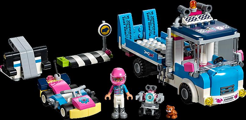 LEGO 41348 Friends: Onderhouds- en reparatietruck