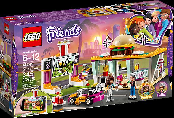 LEGO 41349 Friends: Go-kart diner
