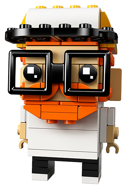 LEGO 41597 BrickHeadz: Maak mij van stenen