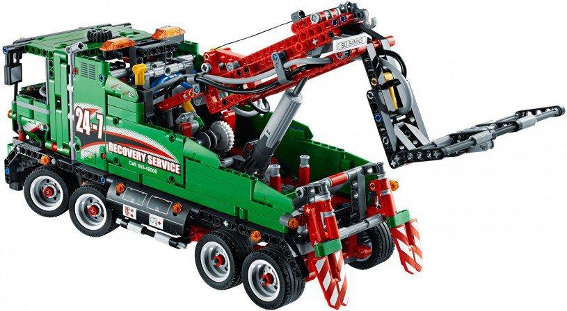 LEGO Technic Sleeptruck 42008