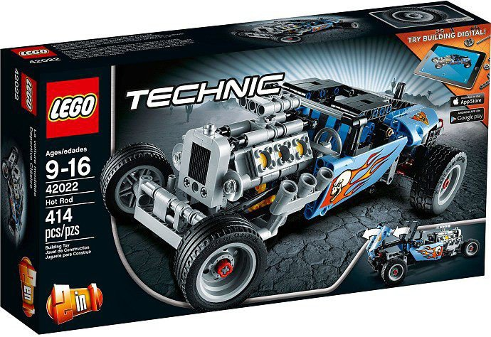 LEGO Technic - Hot Rod 42022