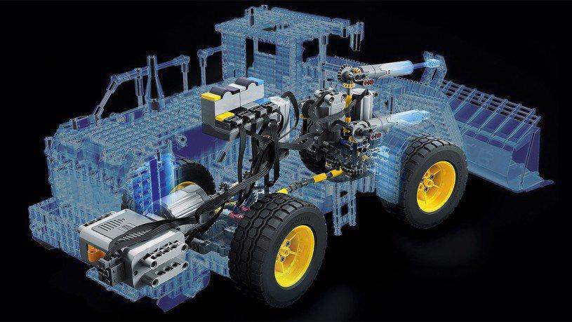 LEGO Technic Volvo L350F Wiellader RC 42030