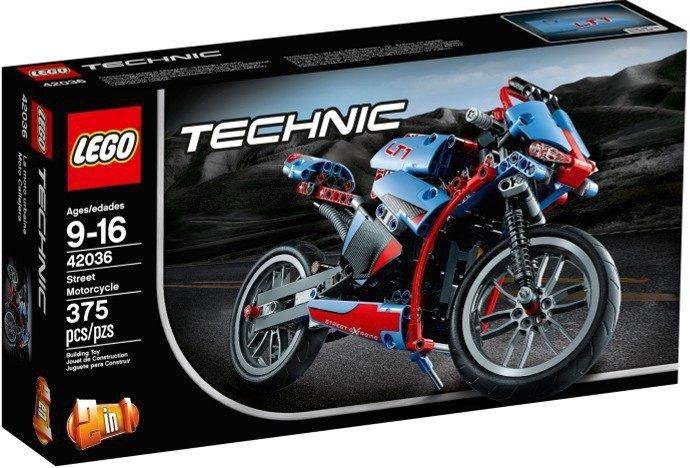 LEGO Technic - Straatmotor 42036