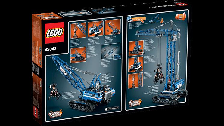 LEGO Technic - Rupsband Kraan 42042